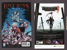LOST BOYS #1 Reign of Frogs 2008 DC Wildstorm 1st Print Comic Book Rodionoff