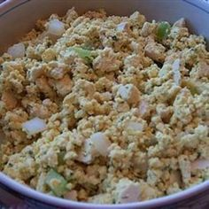 Almost Eggless Egg Salad