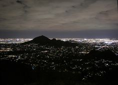 Camelback Mountain at Night