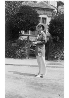 Gabrielle Chanel in Deauville 1913