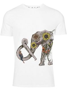 Elephant tshirt Elephant tee Elephant shirt Flower by huebucket, $22.00