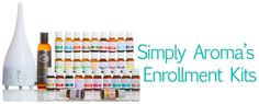 Simply Aroma Enrollment Kits   SIMPLY AROMA ~ Come sign up for free on my team for Free come check me out at www.facebook.com/faithwilson