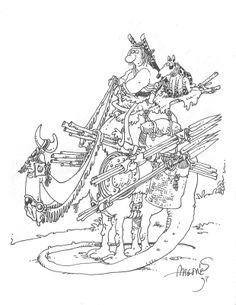 Stan Sakai Auction Original Sergio Aragones Art Groo Rufferto Pen Ink Classic | eBay