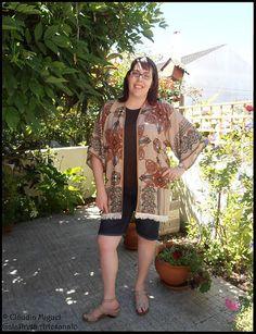 """Kimono """"Arabic Colors""""."""