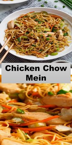 Good Food, Yummy Food, Tasty, Delicious Recipes, Keto Recipes, Cooking Recipes, Cooking Ideas, Easy Recipes, Chow Mein Ingredients
