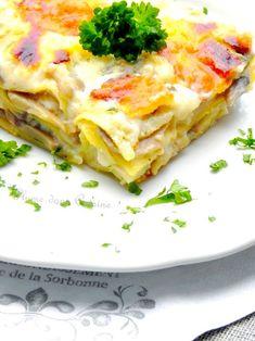 Lasagnes aux champignons (allégées) | Une Plume dans la Cuisine
