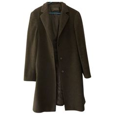 Pre-Owned Calvin Klein Collection Black Wool Coat Size 12 Uk, Black Wool Coat, Calvin Klein Collection, Duster Coat, Blazer, Jackets, Clothes, Shopping, Women