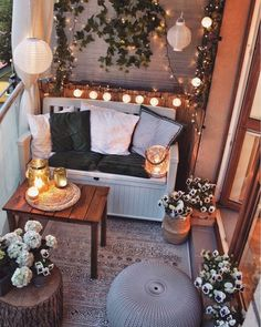 Small Balcony Design, Small Balcony Decor, Outdoor Balcony, Small Patio, Patio Table, Backyard Patio, Balcony Garden, Modern Balcony, Tiny Balcony