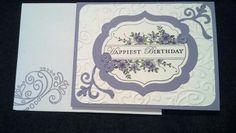 My friend Kathy C. birthday card 2013