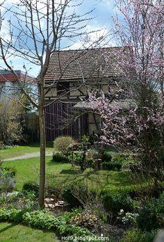 Awesome Gartendekoration mit alten N hmaschinengestell Gartendeko Shabby rosa Gartenpflanzen alte Gartenm bel