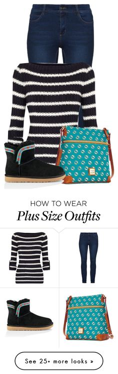 """""""Untitled #21455"""" by nanette-253 on Polyvore featuring Tory Burch, Dooney & Bourke and UGG"""