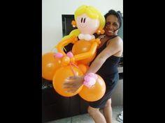 Curso de Decoração com Balões - YouTube