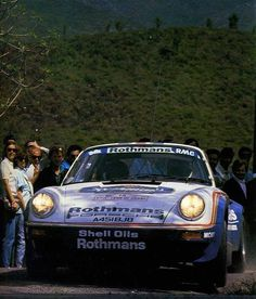 Tour de Corse 1985 B. Beguin-J.J. Lenne Porsche 911 SC RS