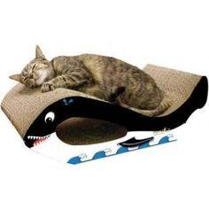 Imperial Cat Large Orca Whale Cardboard Cat Scratching Board at WalMart need for Bella Orcas, Neko, Cat Perch, Cat Scratcher, Feral Cats, Cat Furniture, Cardboard Furniture, Here Kitty Kitty, Kitty Cats