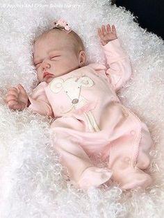 Peaches And Cream Babies Nursery Adorable Reborn Christmas Baby Mary