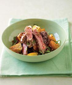 Pumpkin, Lentil, Rocket and Beef Salad - TWD Fast & Fresh Recipes