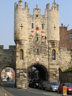 City Gate, York, England. I lived across the street for 6 mo, its pretty amazing!