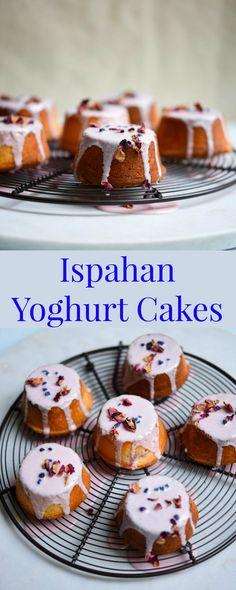 Ispahan Yoghurt Cakes - Patisserie Makes Perfect