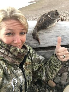 Prois CEO, Kirstie Pike, bags some feathers!  #proiswasthere Check out our performance hunting gear for women at www.proishunting.com