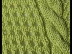 Jak ja to robię - sweter seledynowy - wzór - YouTube