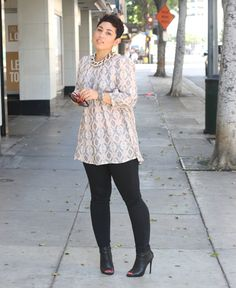 DIY Vogue Top + Skinny Jeans - Mimi G Style