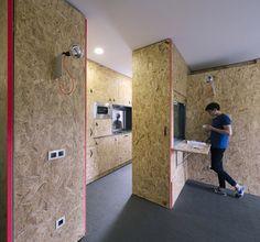 The POP-UP House / TallerDE2 Arquitectos. Image © Imagen Subliminal