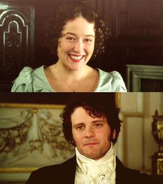 Pride and Prejudice.  Love Colin Firth and Mr. Darcy...