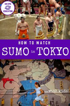 How to Watch Sumo in Tokyo with Kids PIN