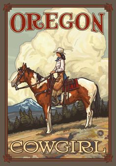 OREGON cowgirl
