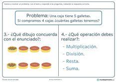 Resolución problemas ejercicios segundo primaria Shopping, Cognitive Activities, Home, Kids Math, Teachers