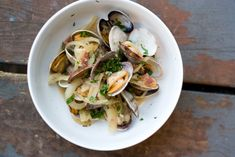Beer-Simmered Clams