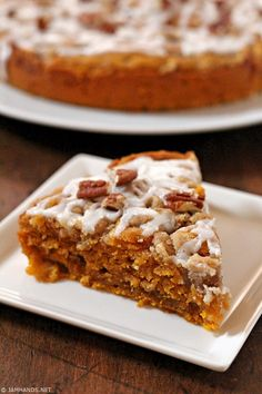 Moist Cinnamon Streusel Pumpkin Coffee Cake Makes a coffee cake, sl. Pumpkin Coffee Cakes, Pumpkin Dessert, Pumpkin Puree, Just Desserts, Delicious Desserts, Dessert Recipes, Pumpkin Recipes, Fall Recipes, Coffee Recipes