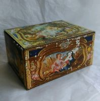 Lovely Vintage Choc/Biscuit Tin