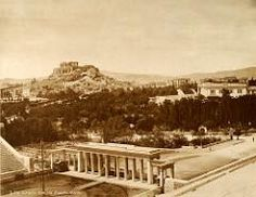 Η πύλη που υπήρχε μπροστά στο Παναθηναϊκό στάδιο Parthenon, Archaeological Site, Athens Greece, Travel Maps, Historical Photos, Old Photos, Paris Skyline, The Past, Memories
