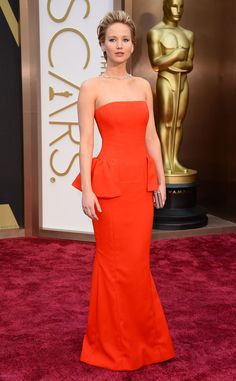 JENNIFER LAWRENCE in Dior Couture – Oscars 2014