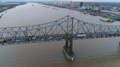 Mississippi River at Baton Rouge, LA http://tampaaerialmedia.com/