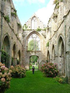 Abbaye de Beauport, ville de Paimpol, Bretagne