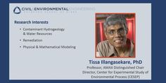 #MinesCEE Prof Tissa Illangasekare has been awarded the 2015 Langbein Lecture Award by @theAGU.