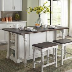 Bourbon County Kitchen Island Set (French Country) Sunny Designs in Formal Dining Sets. The Bourbon County Dining Room Collection by Sunny Designs has a timeless old world charm. French Country Rug, French Country Kitchens, French Country Decorating, French Cottage, Top Country, French Country Living Room, Rustic French, Coastal Cottage, Kitchen Ikea