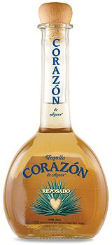 Corazón Tequila De Agave  Reposado, $65.00 #tequila #gifts #1877spirits