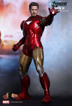 Iron Man from Avengers/Hot Toys
