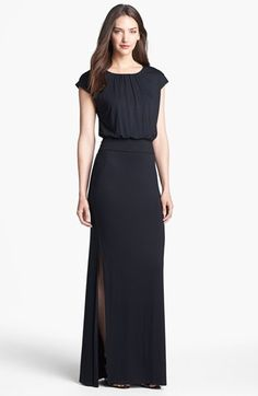 FELICITY & COCO 'Vienna' Blouson Maxi Dress (Nordstrom Exclusive) available at #Nordstrom