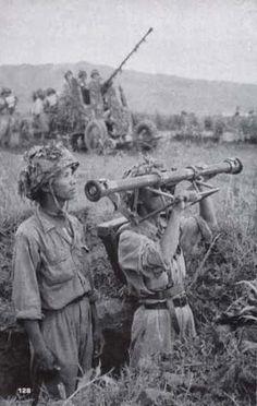Vietnam war: Dien Bien Phu Campaign in 1954, pin by Paolo Marzioli