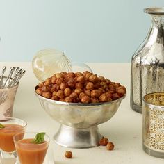 Spiced Chickpea Snack Mix http://www.prevention.com/food/healthy-recipes/healthier-super-bowl-food/spiced-chickpea-snack-mix