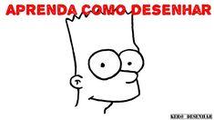 """Como Desenhar o Bart Simpson De """"Os Simpsons"""" - Simples e Fácil."""