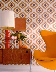 Ретро гостиная: дизайн интерьера в стиле 50-70-ых годов