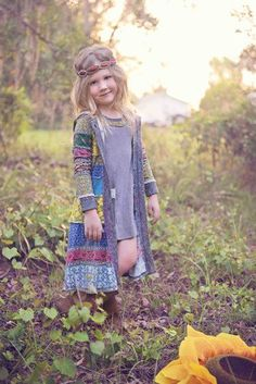 Girls Vintage Fall Boho Collection and can be purchased on Preorder Dress & Jacket Available4 to 14 Years ~ however it is also an inspiring design for those wanting to try a standard pattern with stranded knitting.