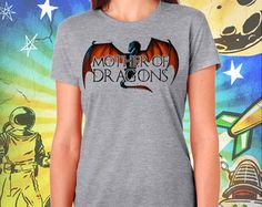 Game of Thrones S6 Mother of Dragons Women's T-Shirt Game of Thrones Khaleesi