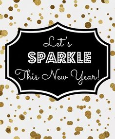 FREE New Year's Eve Printables