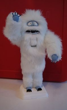 Furry Abominable Snowman Nutcracker (made to order) | ReallyCoolNutcrackers - Seasonal on ArtFire